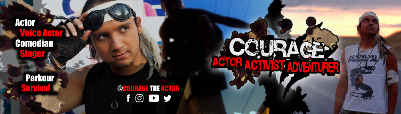 Courage the Actor